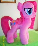 Pinkamena Plush by SiamchuchusPlushies