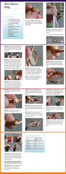 Weave Ring Tutorial by goddessccoa