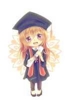 Happy Graduation ! by Pluvias