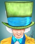 The Mad Hatter by SketchHorse95