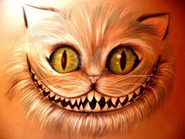 Alice in wonderland,  Cheshire Cat by Art-meets-me