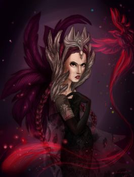 Evil Queen by Rimmes-Broose