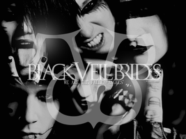 Black Veil Brides Wall 4 by kayelle89