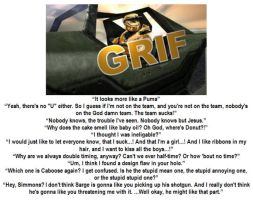 Fav Grif mottos by ShepardSoldier