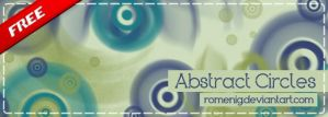 Abstract Circles Brushes by Romenig