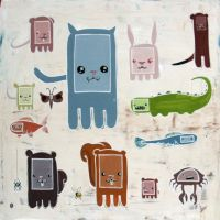 STEE-3PO's woodland creatures by STEE-3PO