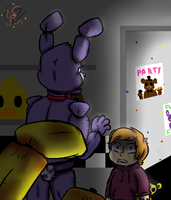 FNAF PG's Death by Caroline263