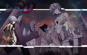 Rei Ayanami Wallpaper by One-Mister-Badguy