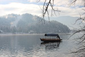 Boat on the Lake by 19Enigma80