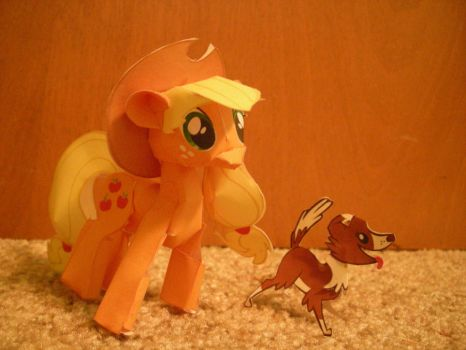 Apple Jack Papercraft by DuckHunter111