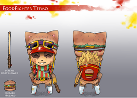 FoodFighter Teemo by AttackVII