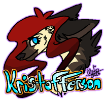Kristofferson Pixel Badge by Naheska