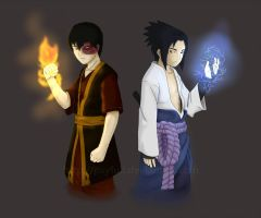 The Fire Prince and The Uchiha by PsyFULL