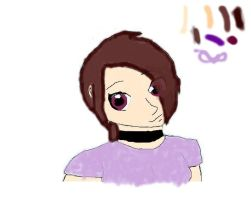 My MS paint thinggy colored by XxPoisonlollypopxX