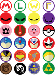 Gamer buttons by the-umbra