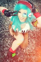 Bulma- dbz by Its-Raining-Neon