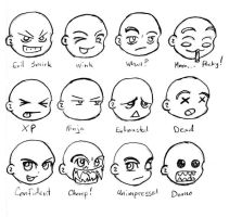 Emoticons Sheet 2 by GeomancerEDG