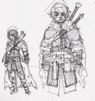 Ranger Sketches by Ruxikah