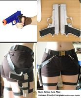 TR Anniversary Holsters + Guns by GraceyDarling