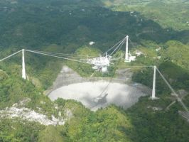 Arecibo Radio Telescope... by PRkid93