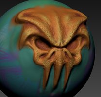 Early Zbrush Work by Lukaz7