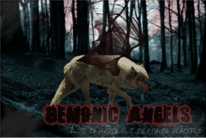 Demonic Angels Layout by iloveaboy2