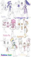Design: MLP FiM Outfits _6x_ by taeliac
