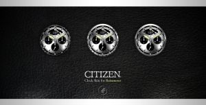 Citizen -Clock skin. by Uribaani