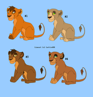 Cub Point Adoptables - Closed by RogueLottie