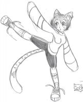 Cat Girl by SecretAgent00PenPen