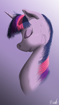 Twilight Sparkle Portrait by BCRich40