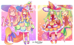 Sweets Wish Drop Adopt Collab Auction - OPEN by kuroeko-adopts