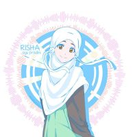 Risha - Moe Hijab by Crowmaru
