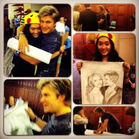 Meeting Vic Mignogna at AWA 2012 by Lilkpopean
