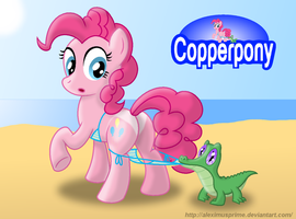 Coppertone Pinkie by AleximusPrime