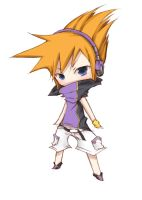 AT: The World Ends With You - Neku by Ariharu