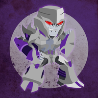 Chibi Megatron by NightLokison