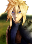 Cloud Strife by Rikuko