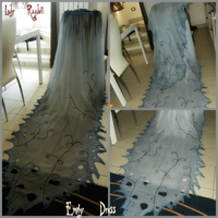 Corpse Bride Dress... W.I.P by Lady-Ragdoll