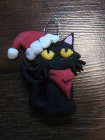 Ghost Trick - Christmas Sissel Ornament by AerodynamicKitten