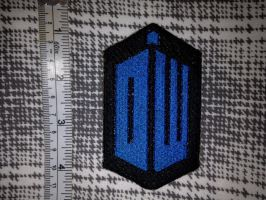 Doctor Who Logo Patch by Rae-Lynn