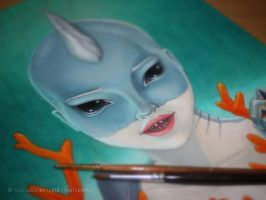 Wild Things: Selacha - Work In Progress by little-lina