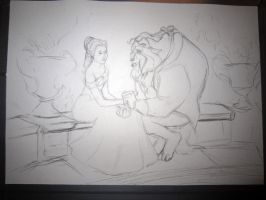 Beauty and the Beast. by Smashley-Simpson