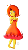 Flame Princess Vault of bones fanart by kuki4982