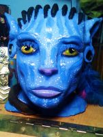 Na'vi Sculpture by ChemicallyUsed