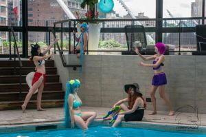 Welcome to the Pool Party by AnnieChie