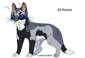 Cat Point Adopt 6 GONE by Kasara-Designs