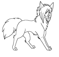 Free Canine Lineart: III by ChocoberryPocky