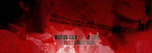 Abuse Poster by UntoldPromises