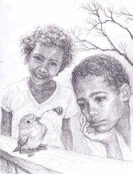 Songdy et Nguema by 011010101